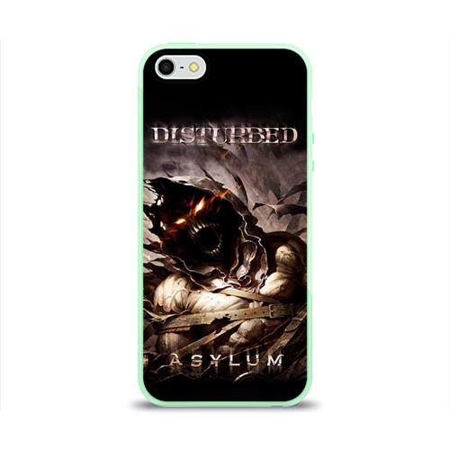 Чехол для iPhone 5/5S глянцевый Disturbed Фото 01