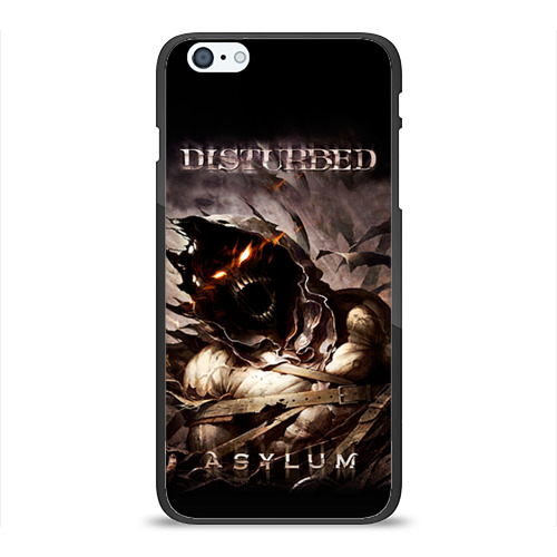 Чехол для iPhone 6Plus/6S Plus глянцевый Disturbed Фото 01
