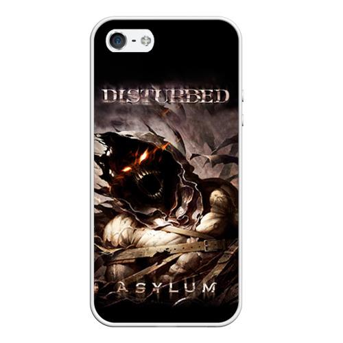 Чехол для Apple iPhone 5/5S силиконовый Disturbed от Всемайки