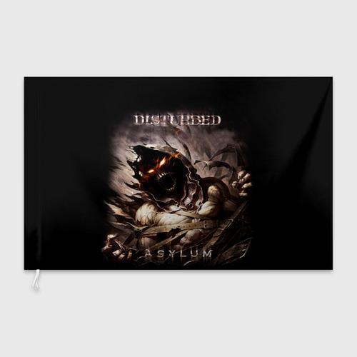 Флаг 3D Disturbed Фото 01