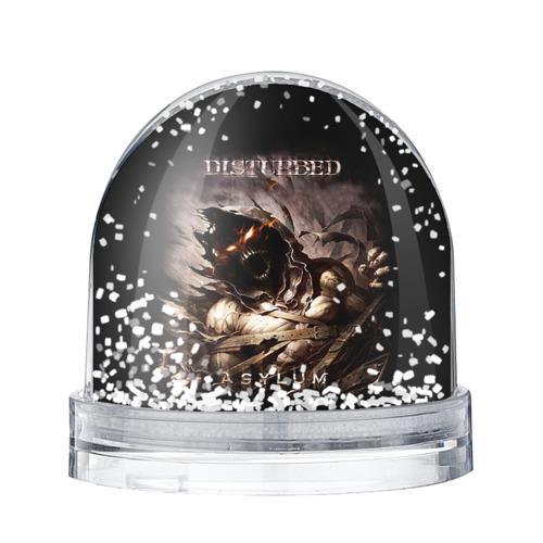 Водяной шар со снегом Disturbed
