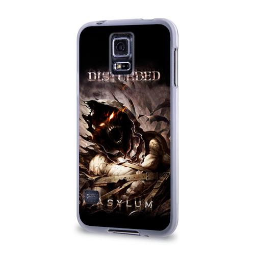 Чехол для Samsung Galaxy S5 силиконовый  Фото 03, Disturbed