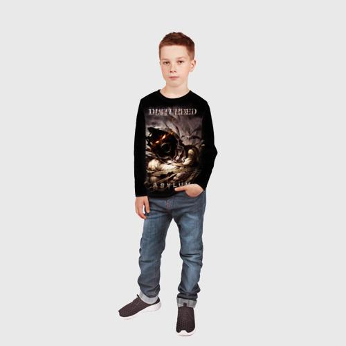 Детский лонгслив 3D Disturbed Фото 01