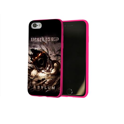 Чехол для Apple iPhone 8 силиконовый глянцевый Disturbed Фото 01
