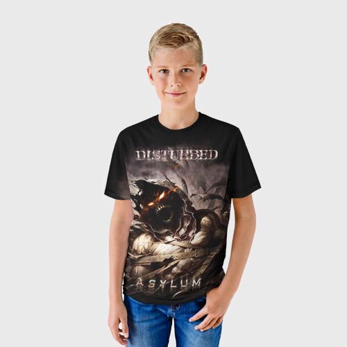 Детская футболка 3D Disturbed