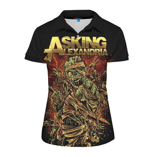Женская рубашка поло 3D Alexandria