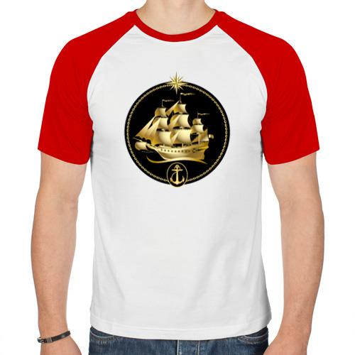 Мужская футболка реглан  Фото 01, Золотой парусник