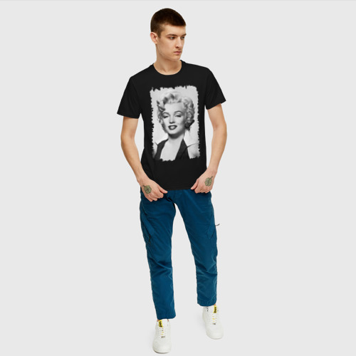 Мужская футболка хлопок Мэрилин Монро (Marilyn Monroe) Фото 01