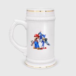 Sonic & Mario
