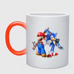 Sonic & Mario - интернет магазин Futbolkaa.ru