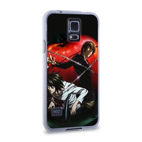 Чехол для Samsung Galaxy S5 силиконовый  Фото 02, Тетрадь смерти