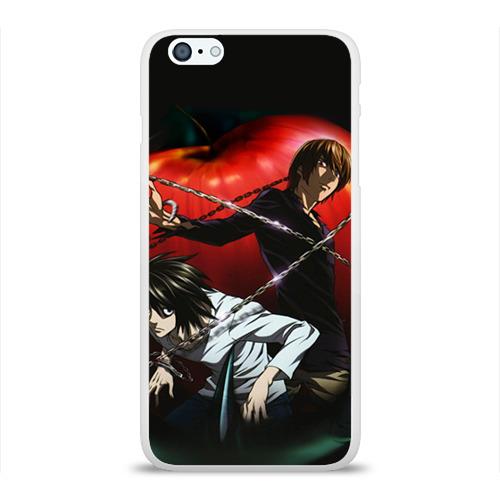 Чехол для Apple iPhone 6Plus/6SPlus силиконовый глянцевый Тетрадь смерти