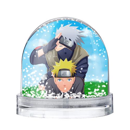 Водяной шар со снегом Наруто