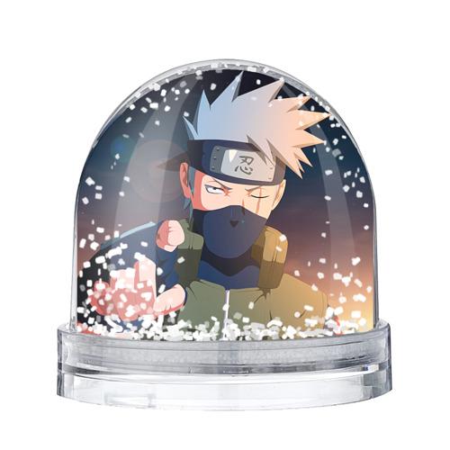 Водяной шар со снегом Какаси