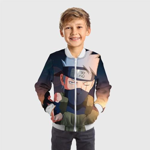 Детский бомбер 3D  Фото 05, Какаси