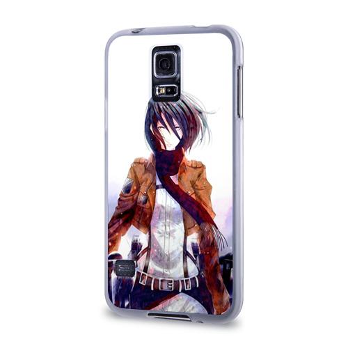 Чехол для Samsung Galaxy S5 силиконовый  Фото 03, Атака Титанов