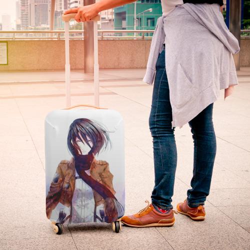 Чехол для чемодана 3D  Фото 04, Атака Титанов