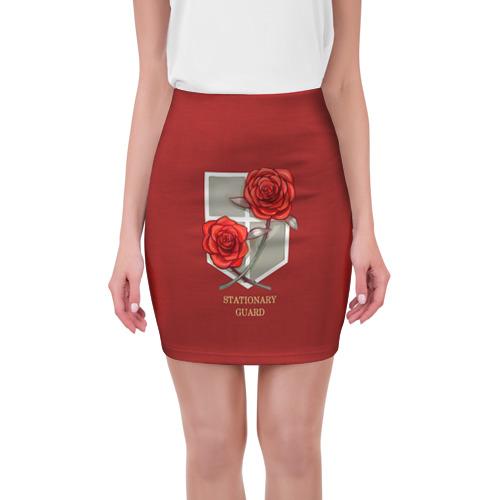 Мини-юбка 3D Стационарная гвардия от Всемайки