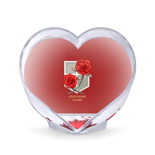 Сувенир Сердце Стационарная гвардия от Всемайки