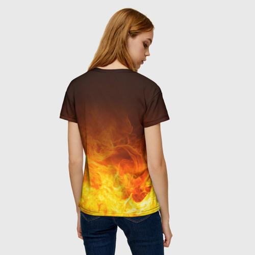 Женская футболка 3D Атака Титанов Фото 01