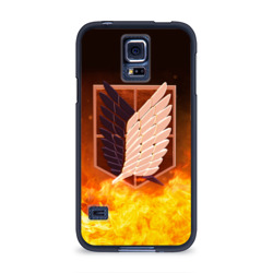 Чехол для Samsung Galaxy S5 силиконовыйАтака Титанов
