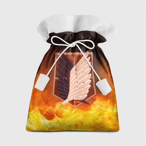 Подарочный 3D мешок Атака Титанов