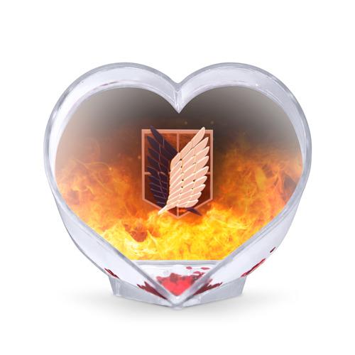Сувенир Сердце Атака Титанов от Всемайки