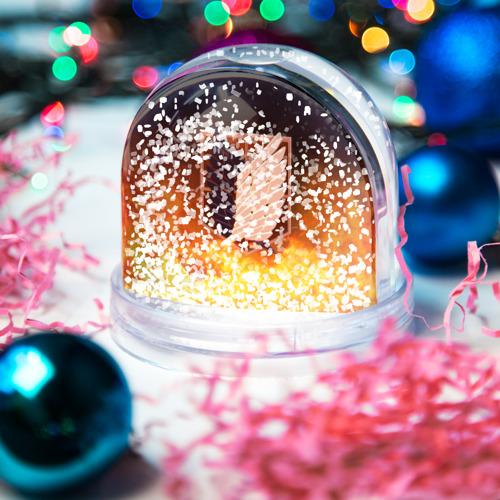 Снежный шар Атака Титанов Фото 01