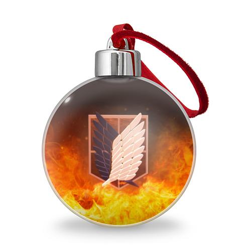 Ёлочный шар Атака Титанов Фото 01