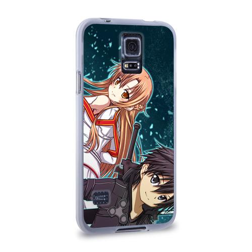 Чехол для Samsung Galaxy S5 силиконовый  Фото 02, Sword Art Online