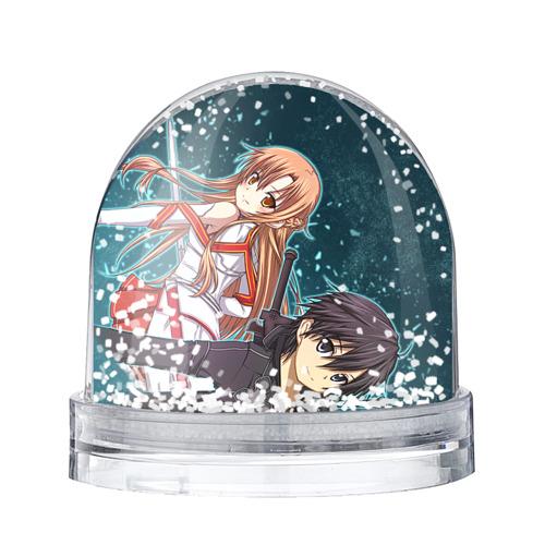 Водяной шар со снегом Sword Art Online