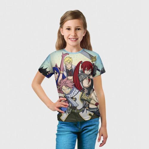 Детская футболка 3D  Фото 03, Fairy tail