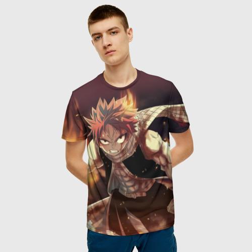 Мужская футболка 3D Fairy tail Фото 01