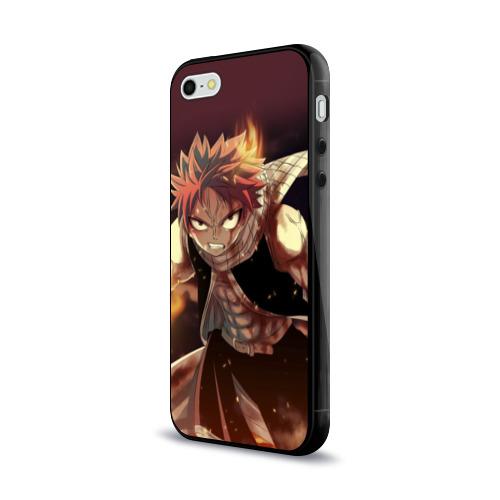 Чехол для Apple iPhone 5/5S силиконовый глянцевый Fairy tail Фото 01