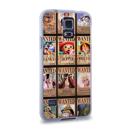 Чехол для Samsung Galaxy S5 силиконовый  Фото 02, One Piece