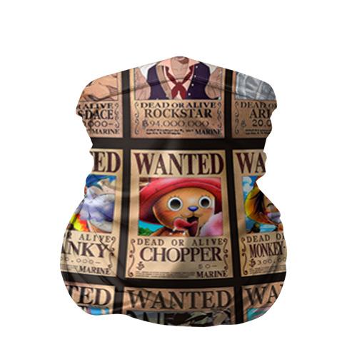 Бандана-труба 3D One Piece