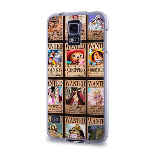 Чехол для Samsung Galaxy S5 силиконовый  Фото 03, One Piece