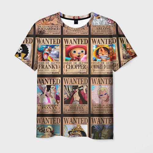 Мужская футболка 3D One Piece