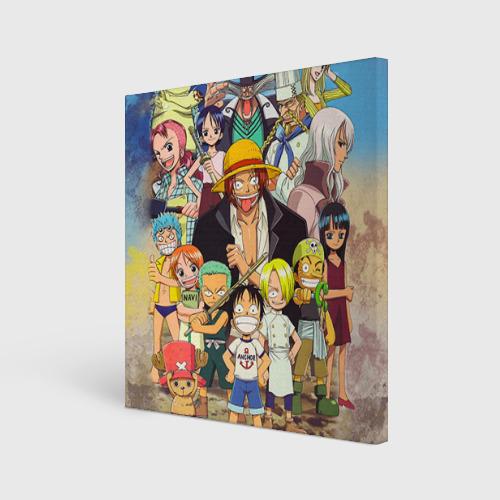 Холст квадратный One Piece