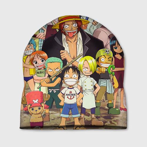 Шапка 3D One Piece