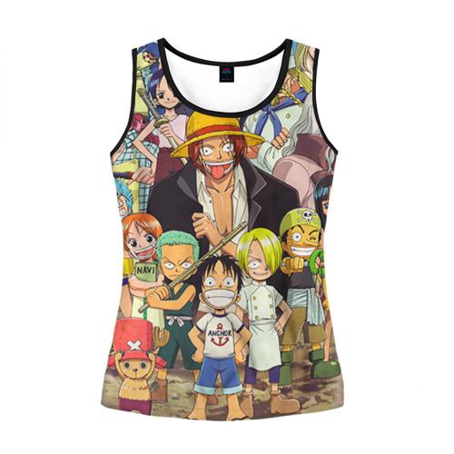 Женская майка 3D One Piece