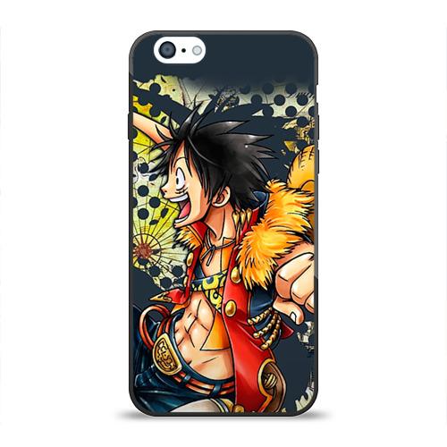 Чехол силиконовый глянцевый для Apple iPhone 6 One Piece - 1