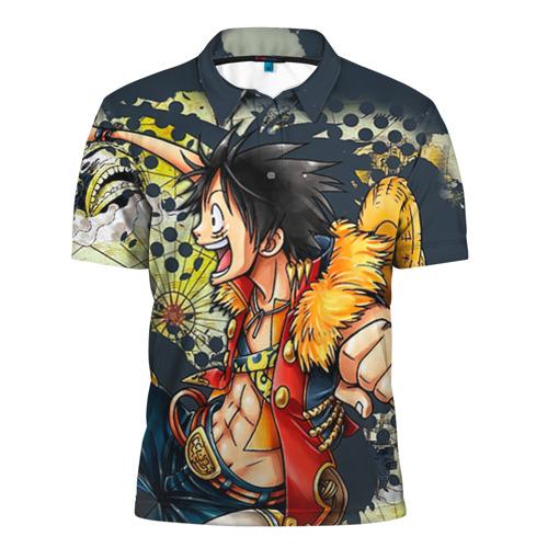 Мужская рубашка поло 3D One Piece
