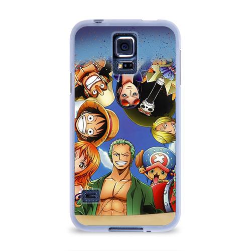 Чехол для Samsung Galaxy S5 силиконовый  Фото 01, One Piece