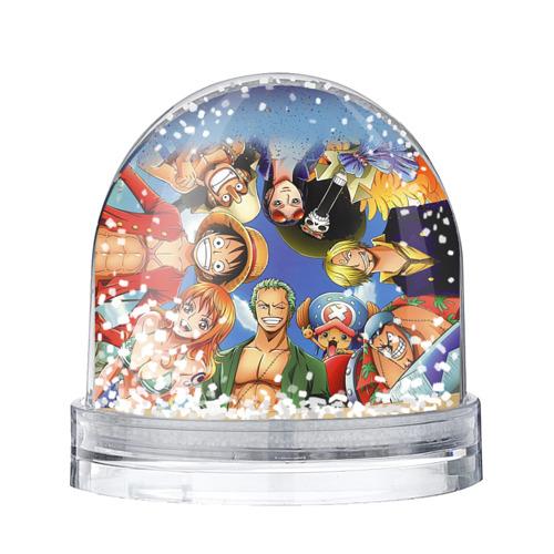 Водяной шар со снегом One Piece