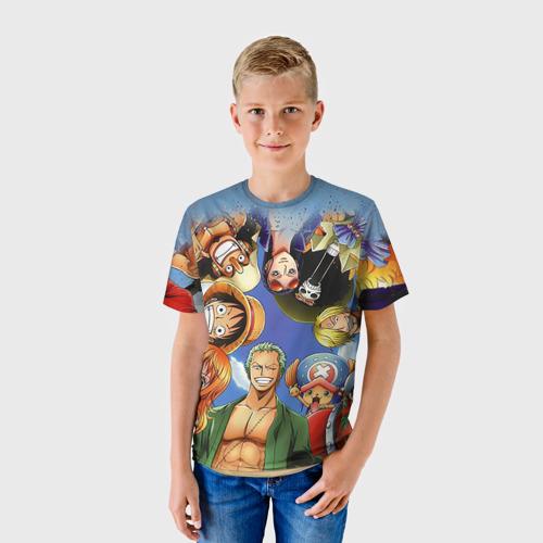 Детская футболка 3D  Фото 01, One Piece