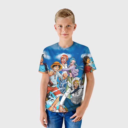 Детская футболка 3D One Piece