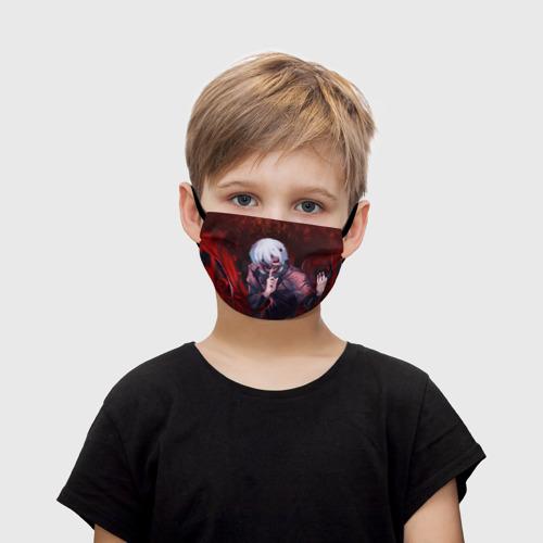 Детская маска (+5 фильтров) Токийский Гуль Фото 01