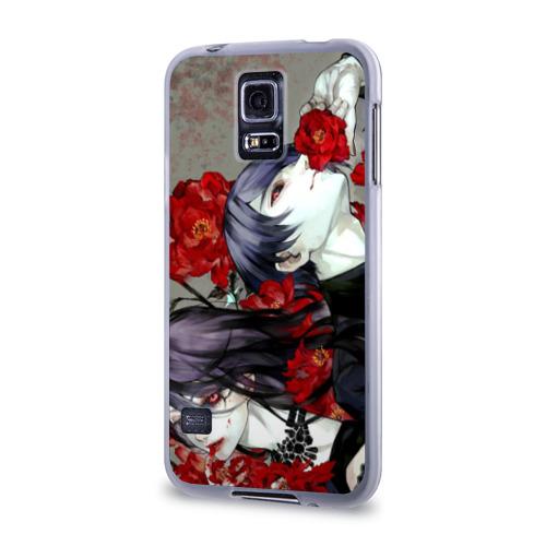 Чехол для Samsung Galaxy S5 силиконовый  Фото 03, Токийский Гуль