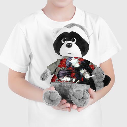 Енотик в футболке 3D Токийский Гуль Фото 01